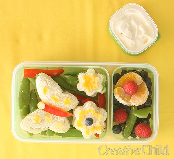 Back to School Lunch Ideas Bento Box