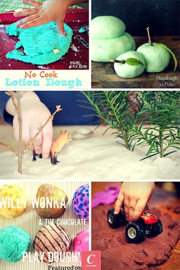 kids activities playdough recipes