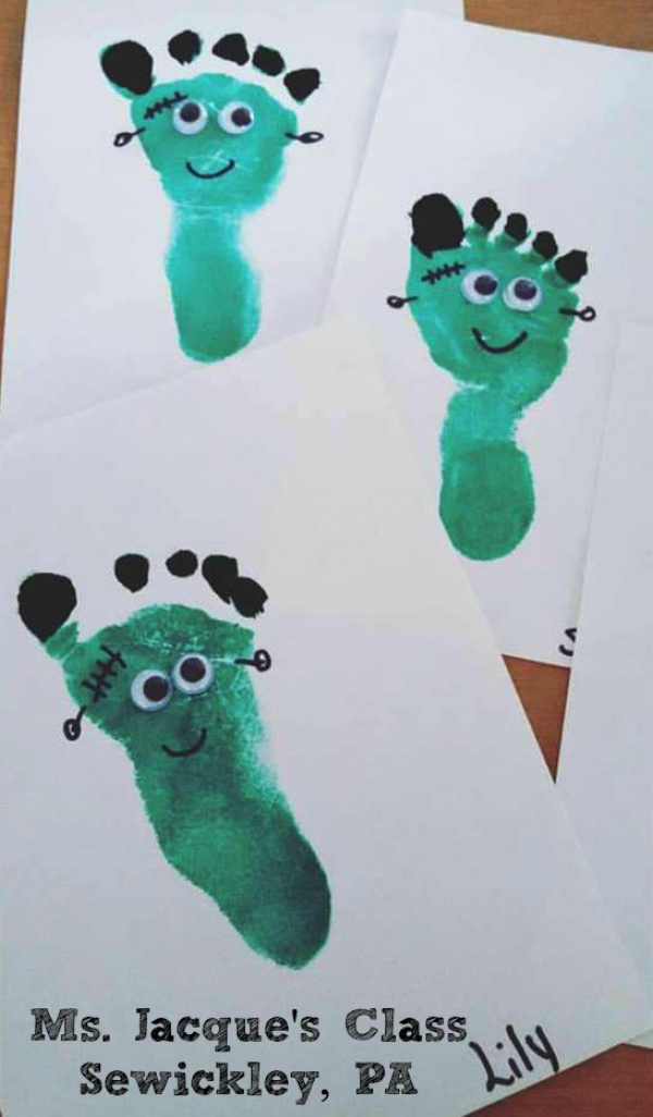 Frankenstein Footprints
