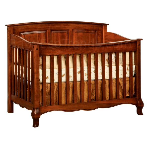 Amish Wood Crib