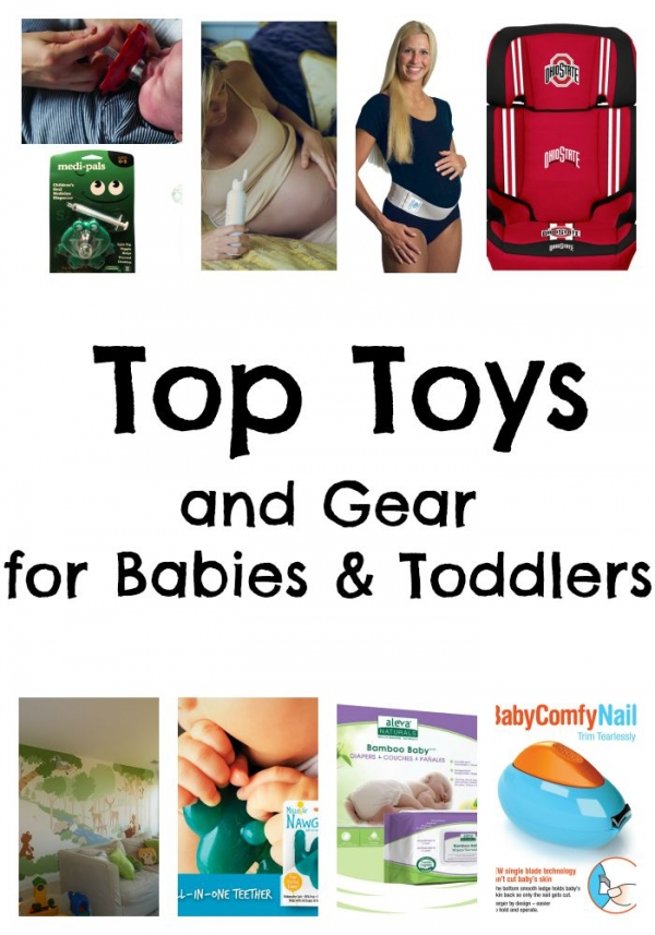 Top Toys and Gear for Babies and New Moms