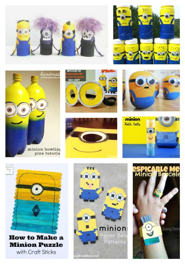 Minions crafts creative child solutioingenieria Gallery