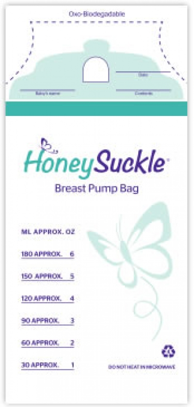 Honeysuckle Breast Pump Bags