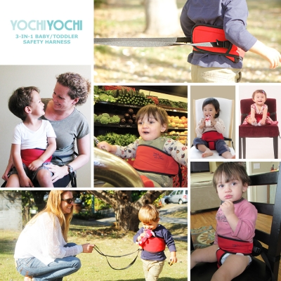 Yochi Yochi 3-in-1 baby/ toddler harness