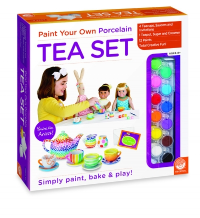 Paint Your Own Porcelain Tea Set