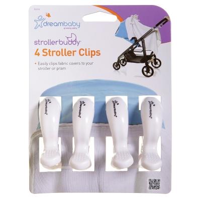 Strollerbuddy® Stroller Clips