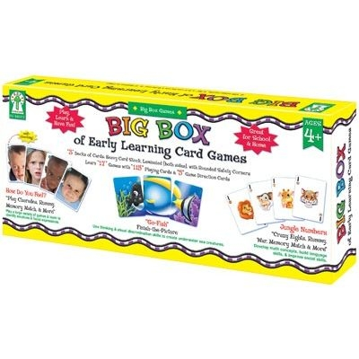 Big Box of Early Learning Card games