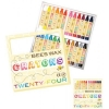 Brilliant Bee Beeswax Crayons