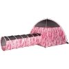 Pink Camo Tent & Tunnel Combo
