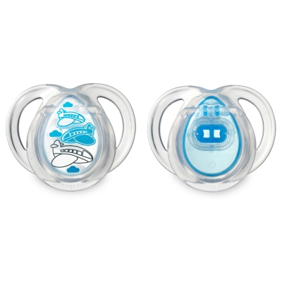 Tommee Tippee Closer to Nature Everyday Pacifier 0-6m (2-pack Assorted Colors)
