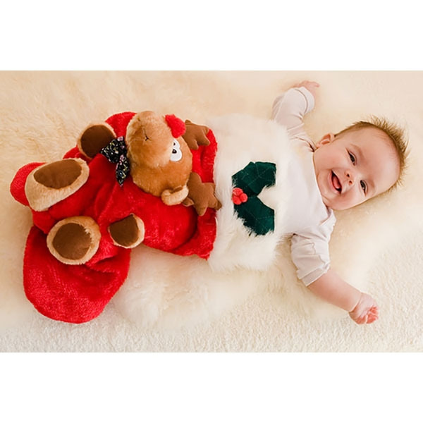 Christmas Baby Stocking Outfit