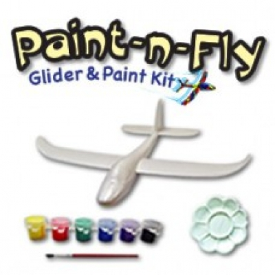 Paint N Fly Glider and Paint Kit