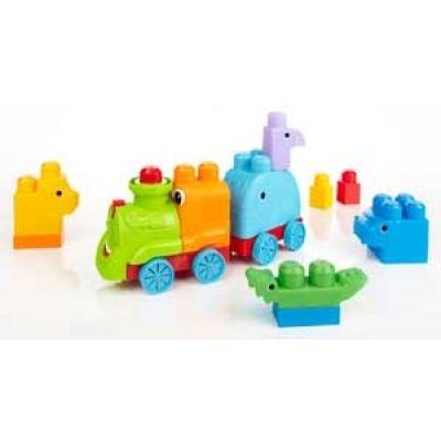 Mega Bloks First Builders Safari Train