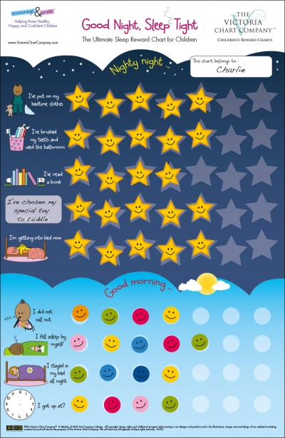 Good Night Sleep Tight Reward Chart
