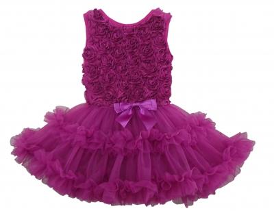 Grape Petti Dress N148