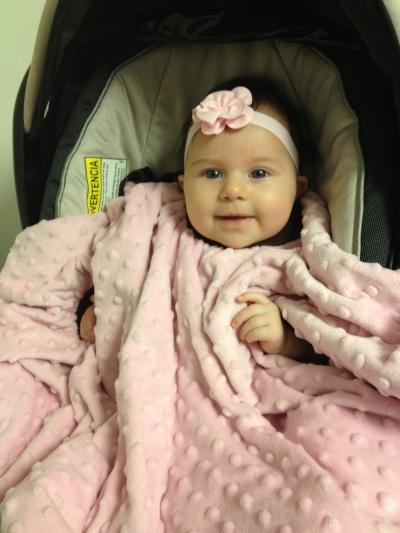 Boncho - Pink Minky Flannel