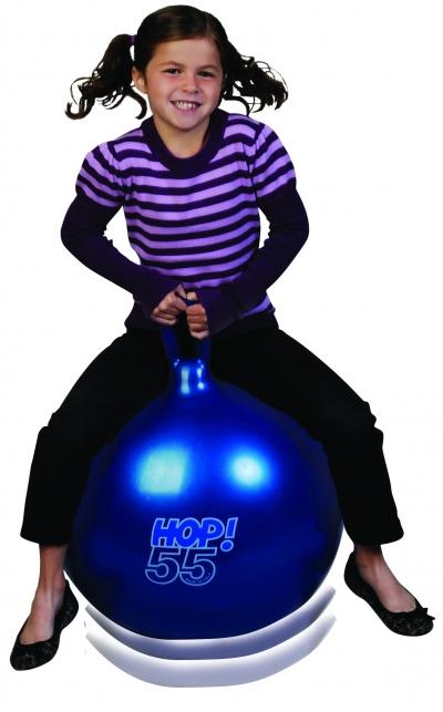 Hop Ball 55 (Metallic Blue)
