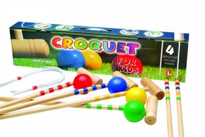 Children's Croquet Set