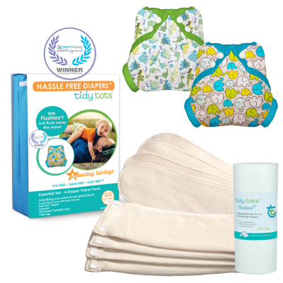 4 Diaper Essential Set