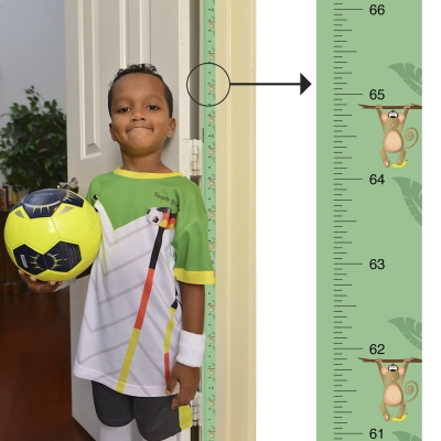 Award-Winning Mom Approved Growth Chart (Fits in standard Doorframe)