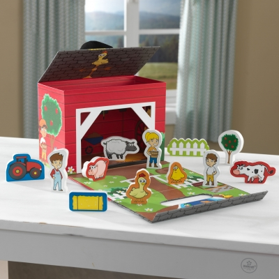 Travel Box Play Set - Farm