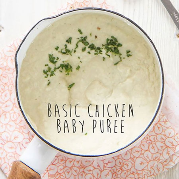 9. Basic Chicken Puree