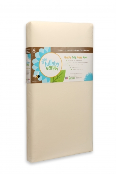 Lullaby Earth Super Light Weight 2-Stage Crib Mattress