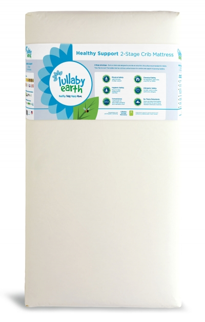 Lullaby Earth Healthy Support 2-Stage Crib Mattress