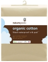 Naturepedic Organic Cotton Fitted Waterproof Crib Pad