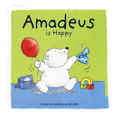 Books for Kids or Parents: Amadeus Is Happy