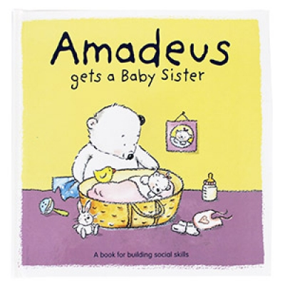 Books for Kids or Parents: Amadeus Gets A Baby Sister