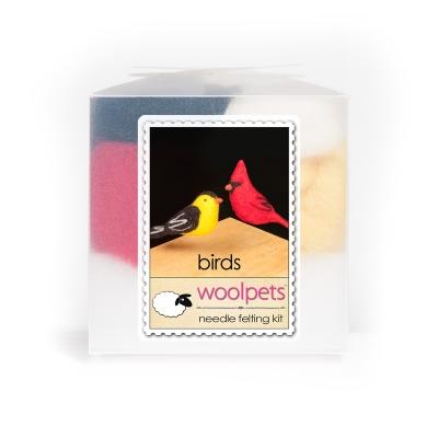 Birds Needle Felting Kit
