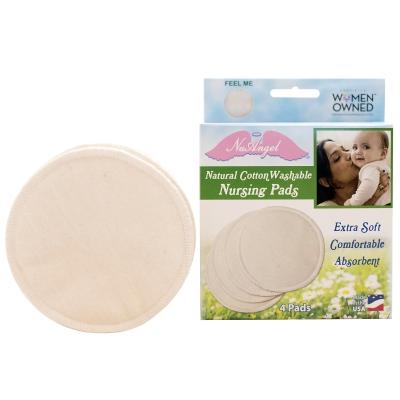 Natural Cotton Washable Nursing Pads