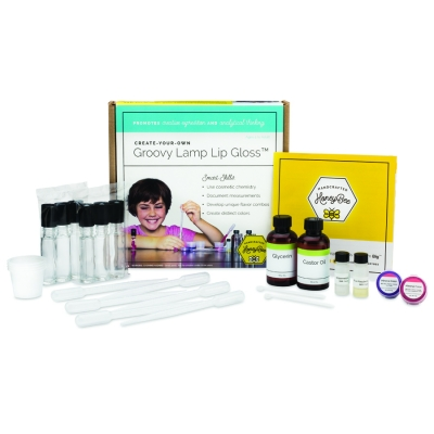 Create-Your-Own Groovy Lamp Lip Gloss Kit