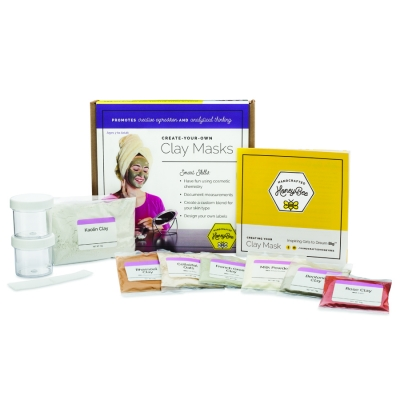 Activity Kits: Create-Your-Own Clay Masks Kit