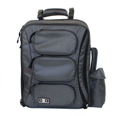 Diaper Dude Grey Convertible backpack