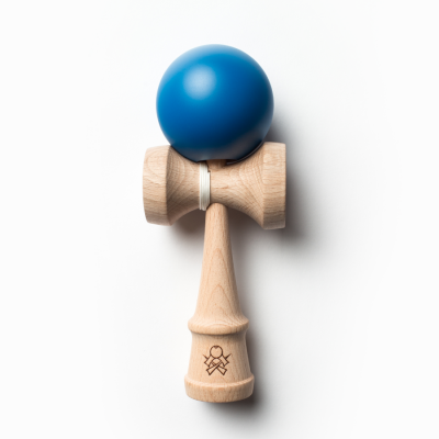 F3 Solid Blue Cushion Clear Kendama