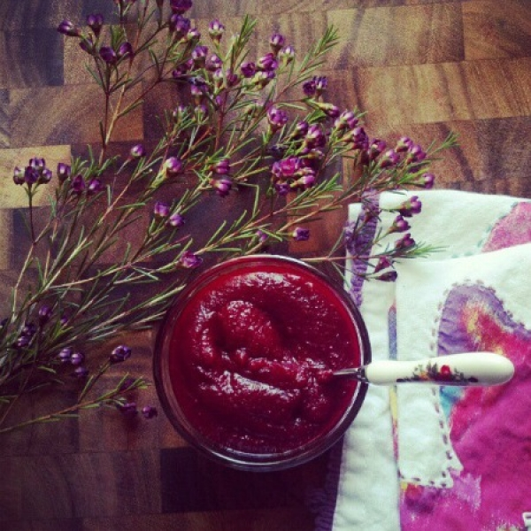10. Beets and Blueberry Mash