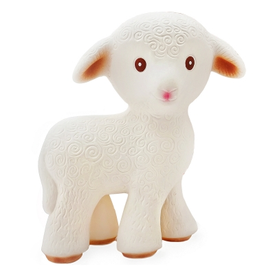 Mia the Lamb - Natural Rubber Teething Toy