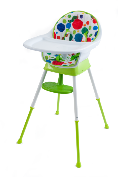 The Very Hungry Caterpillar Happy & Hungry 3 in 1 high Chair (Dots)