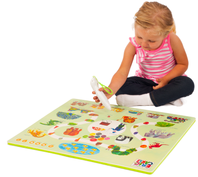 The World of Eric Carle Interactive Learning Mat (2 mat) with Voice Pen