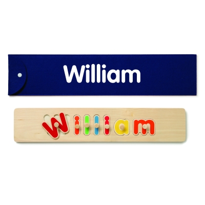 Personalized Wooden Name Labels