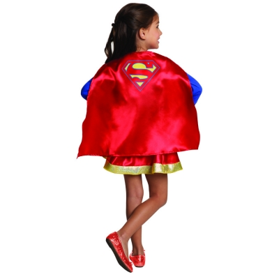 Supergirl Cape and Skirt Set