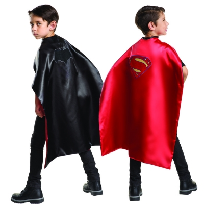 Superman and Batman Reversible Cape