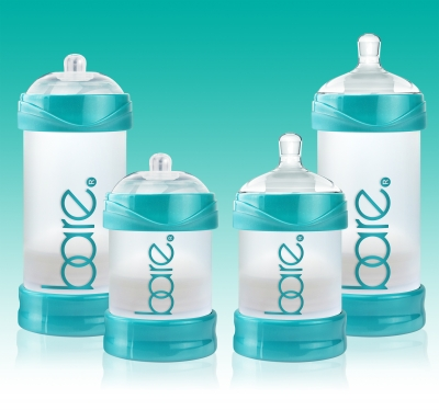 Bare Air-free Baby Bottles by Bittylab