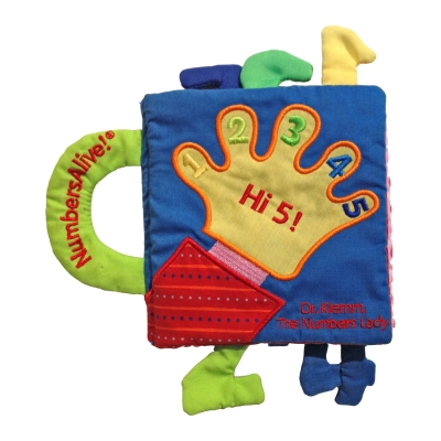 Hi 5! Plush Baby Numbers Book