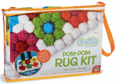 Piccalilly Pom-Pom Rug Kit