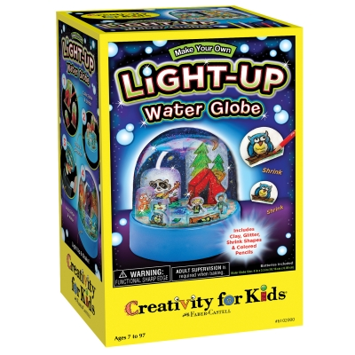 Make Your Own Light Up Water Globe