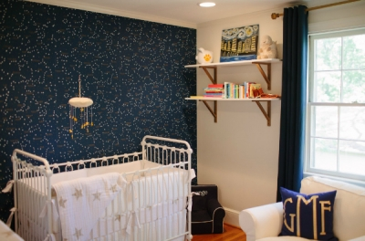 George's Constellation Nursery via Project Nursery