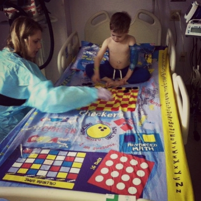 Playtime Edventures Makes a Hospital Stay Easier